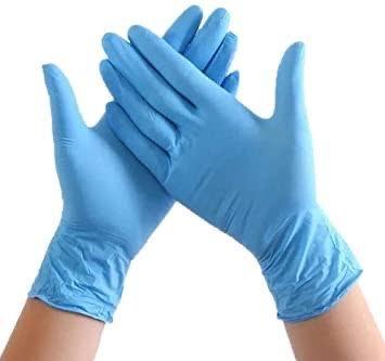 LARGE Disposable Nitrile Gloves (100) - £12.50 (EX VAT)
