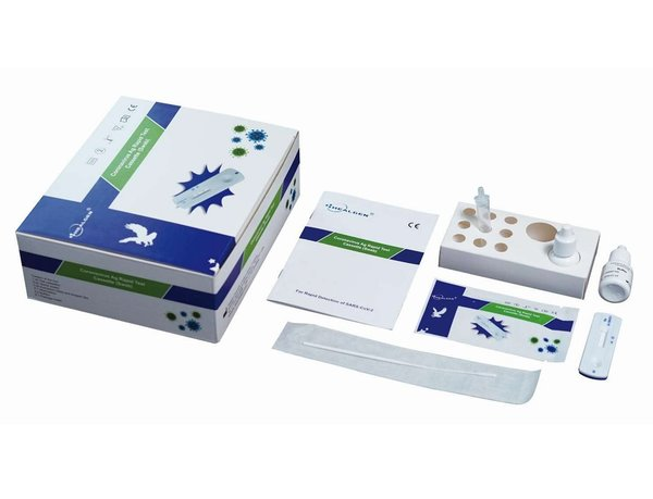 Healgen Antigen Rapid Lateral Flow Tests 500 tests £4.95 per test  (EX VAT)