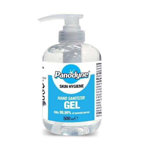 Panodyne Hand Sanitiser Gel 500ml - £3.50 (EX VAT)