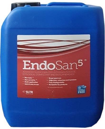 Endosan 5 Disinfectant Fogging Solution 5 Litre - £34.95 (EX VAT)