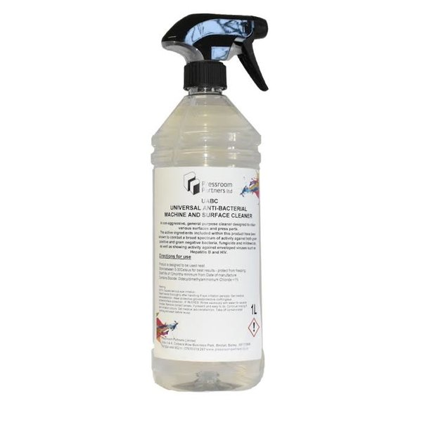 Universal Antibacterial Machine And Surface Cleaner 1 Litre - £4.75 (EX VAT)