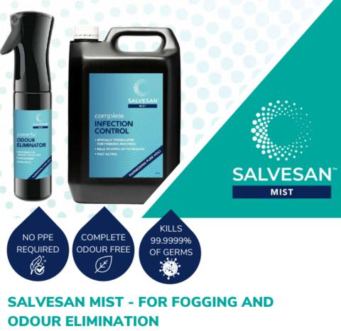 SALVESAN Hypochlorous Disinfectant 5ltrs £14.95 (EX VAT)