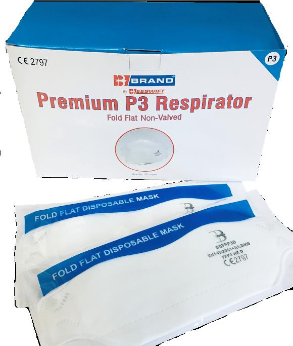 FFP3 Respiratory Face Mask - £3.50 (EX VAT)
