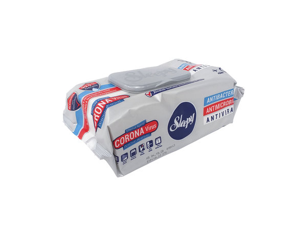 Sleepy Disinfectant Surface Wet Wipes (100 per Pack) – Sold in Cases of 12 Packs. £1.95 each (EX VAT)