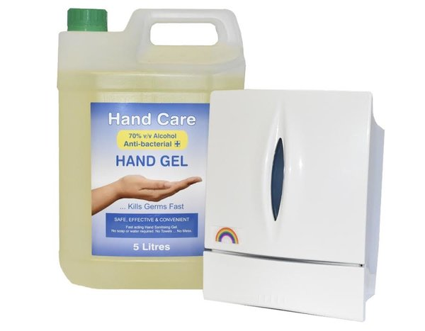 Hand Sanitiser Dispenser Bundle - £29.95 (EX VAT) SPECIAL OFFER