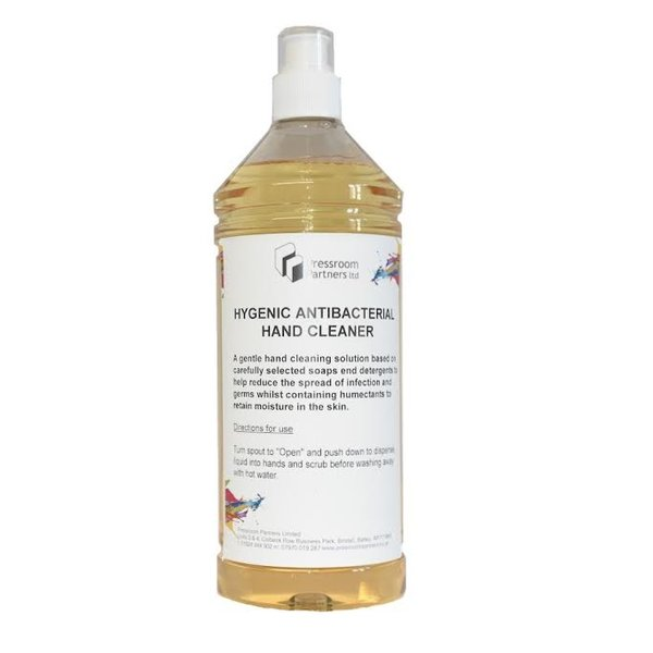 Hygienic Antibacterial Hand Cleaner 1 Litre - £4.75 (EX VAT)