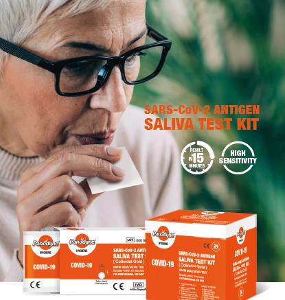 Panodyne Covid-19 Saliva Antigen Rapid Test Kits, (6 Tests) £12.95  (EX VAT)